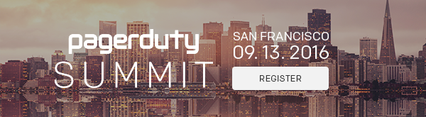 PagerDuty Summit 2016